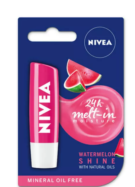 Beiersdorf Nivea Lip Balm Watermelon Shine 1