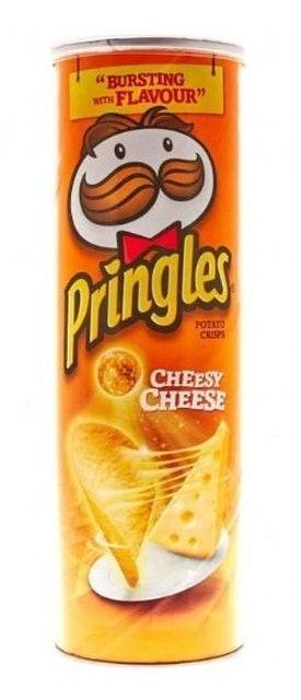 Kellogg's Pringles Cheesy Cheese 1