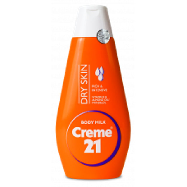 Creme 21 Body Milk Dry Skin 1