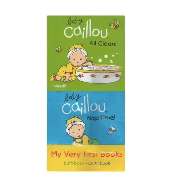 Pierre Brignaud Baby Caillou – My Very First Books 1