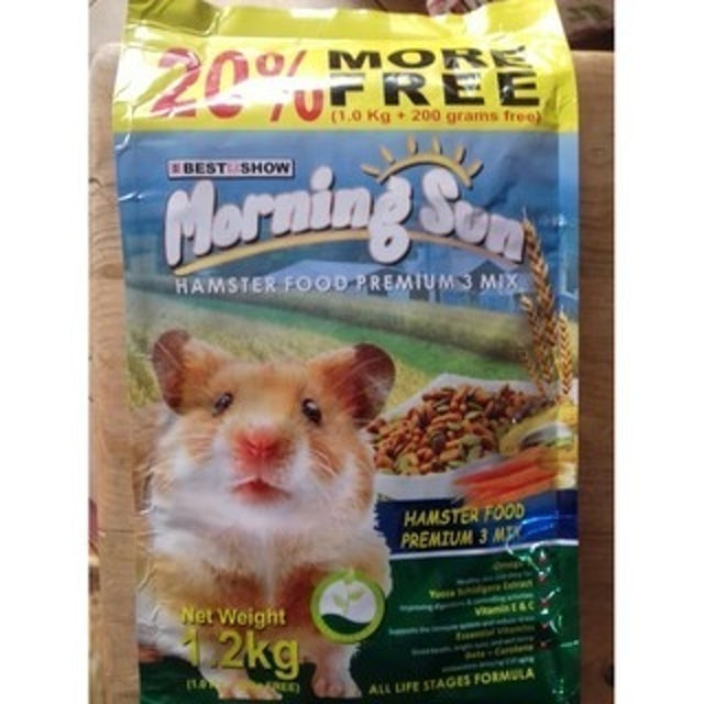 Bisfood Morning Sun Hamster Food Premium 3 Mix 1