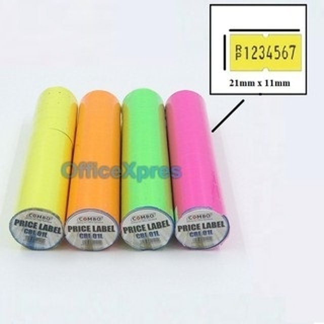 Combo  Price Label Color 1