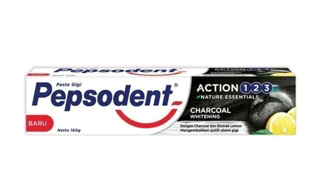 Pepsodent Charcoal 1