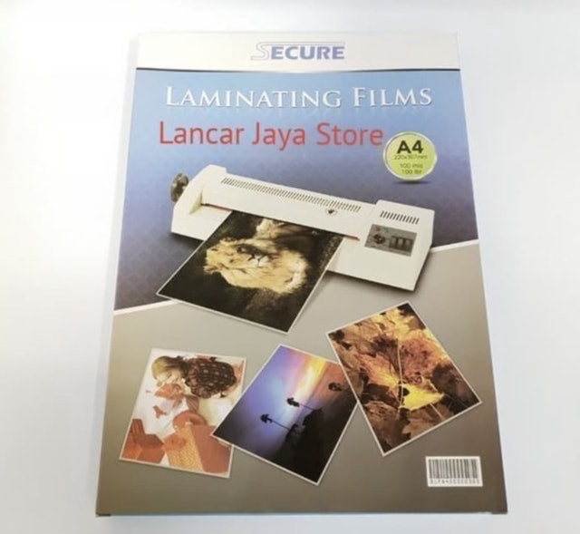 Secure Laminating Films A4 1