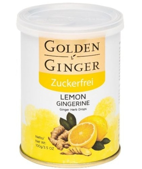 Golden Ginger  Herb Candy LEMON sugar-free 1