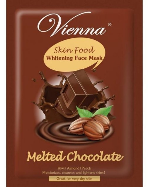 Vienna  Skin Food Whitening Face Mask Melted Chocolate 1