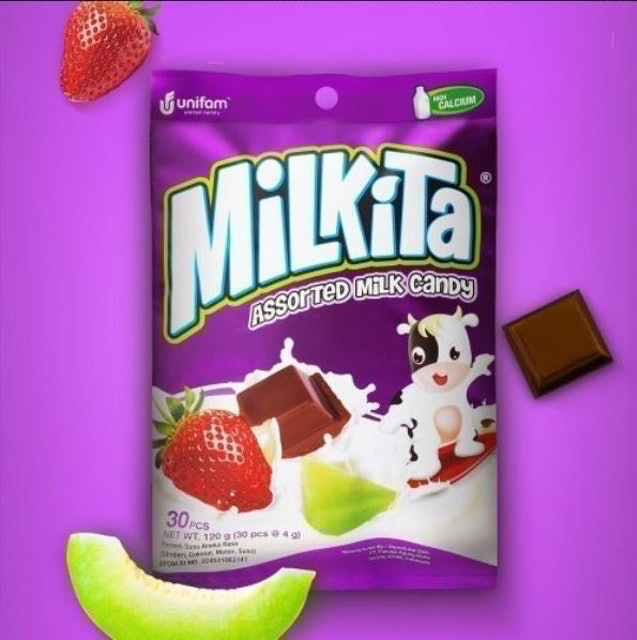 United Family Food  Milkita Assorted Milk Candy 1