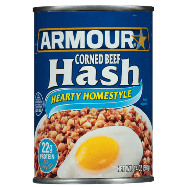 Armour Star Corned Beef Hash 1