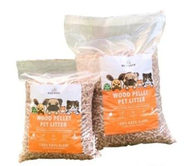 WOOTWOOD Wood Pellet Pet Litter 1