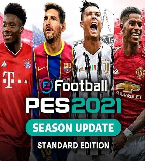 Konami  eFootball PES 2021 SEASON UPDATE STANDARD EDITION 1