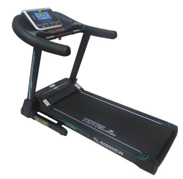 TOTAL HEALTH GYM Big Treadmill Elektrik 1