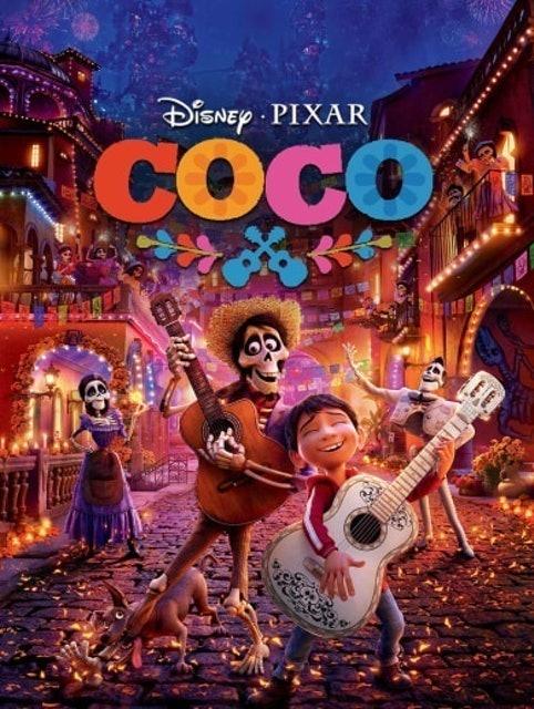 Walt Disney Pictures dan Pixar Animation Studios Coco 1