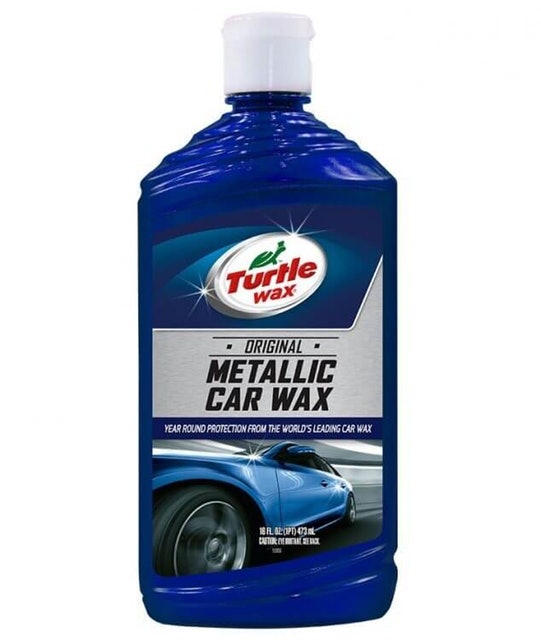 Turtle Wax Metallic Car Wax 1