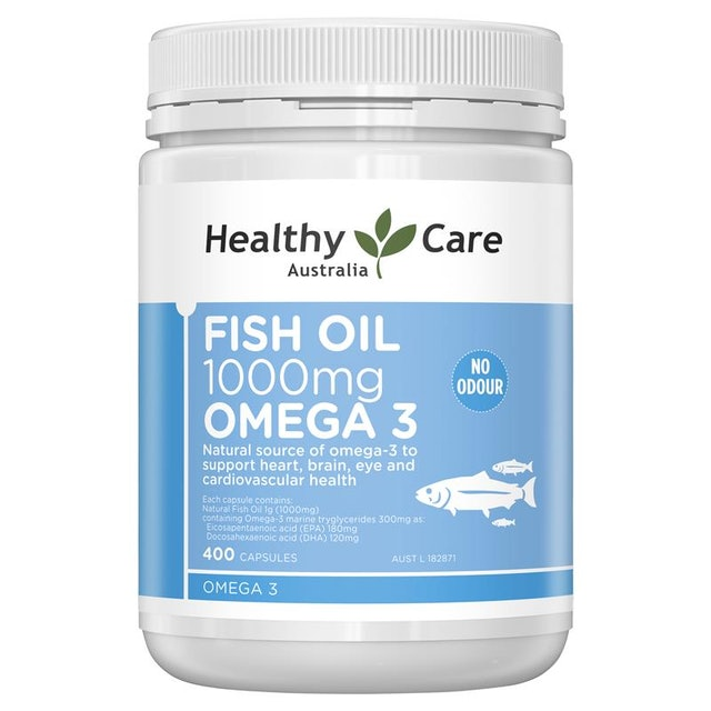 Healthy Care  Fish Oil 1000mg Omega 3 1