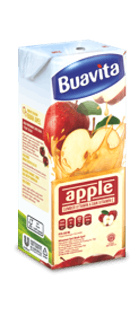Unilever Buavita Apple 250 ml 1