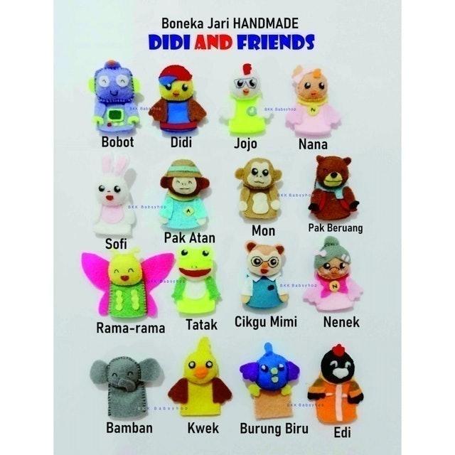 Boneka Jari Didi and Friends 1