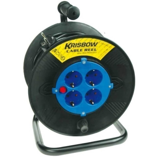 Krisbow Cable Reel 1,5 mm X 50 m 1