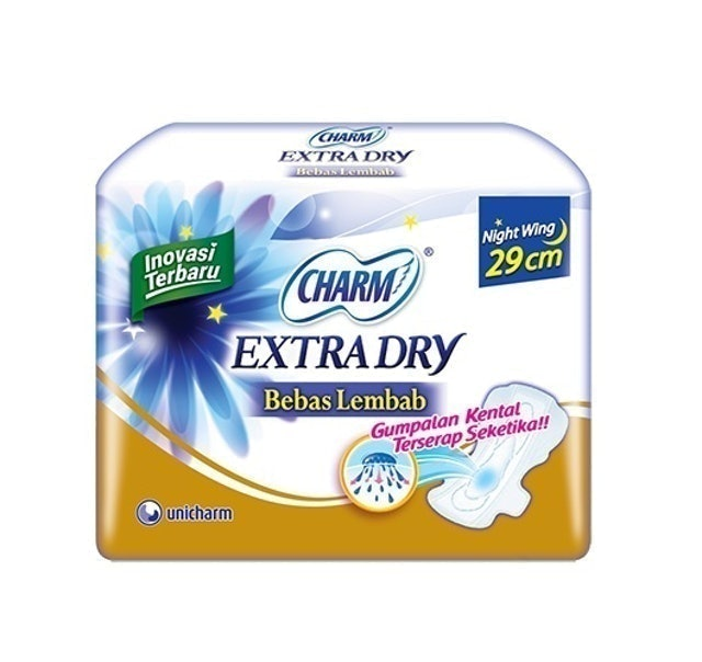 Unicharm CHARM Extra Dry Slim Night 29 cm 1