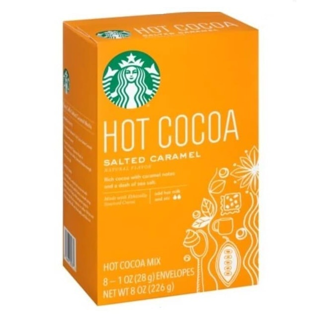 Starbucks Hot Cocoa Salted Caramel 1