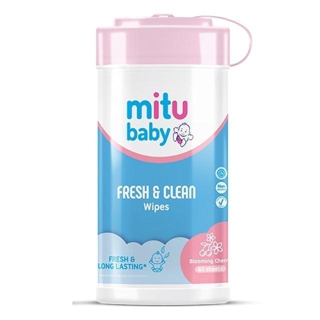 Godrej Mitu Baby Fresh & Clean Blooming Cherry 1