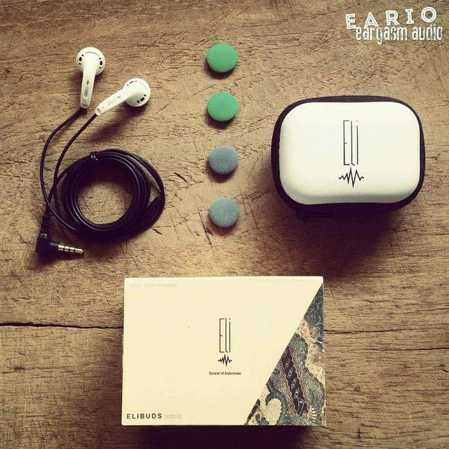 5. Elibuds Sabia V5 Earphone Earbud 1