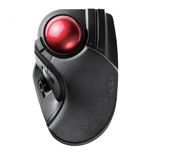 3. Elecom Wireless Trackball M-HT1DRBK 1