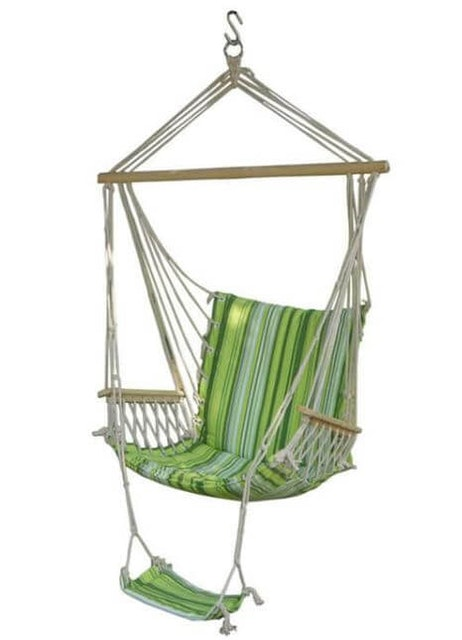 3. Hanging Chair with Arms Rest and Legs Rest 1
